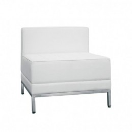 Poltroncina in ecopelle'colore:Bianco