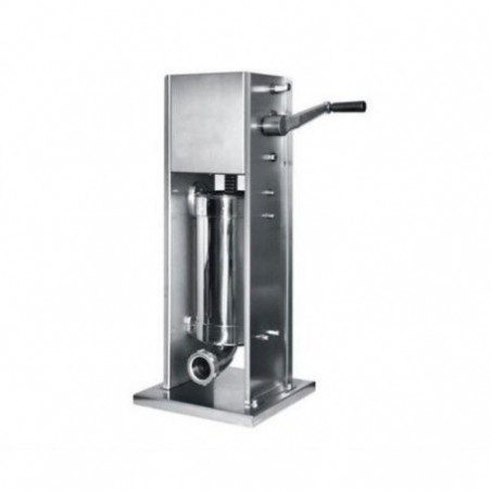 Insaccatrice inox manuale Verticale - Lt. 7