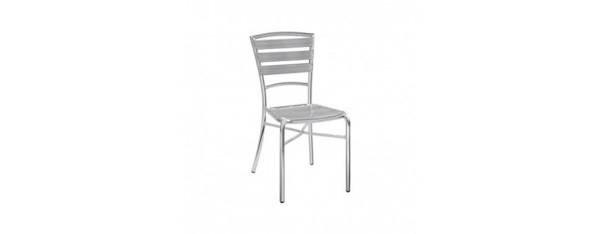 Sedia in alluminio anodizzato saldata Ø 25 x 1,5 mm